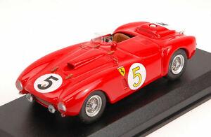 【送料無料】模型車 スポーツカー フェラーリプラス#リタイヤルマンモデルferrari 375 plus 5 dnf le mans 1954 r manzonl rosier 143 model artmodel