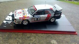 【送料無料】模型車 スポーツカー 143 transkit audi quattro a2 llewellin manx1985143 transkit audi quattro a2 llewellin manx international rally 1985