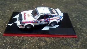 【送料無料】模型車 スポーツカー 143 porsche 911 transkit almerasセヴェンヌ1981143 porsche 911 transkit almeras rally rally cevennes 1981