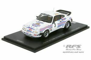 【送料無料】模型車 スポーツカー ポルシェラリーマンフレートヒーロースパークporsche 930 911 turbosaarland rally 1983manfred hero 143 spark