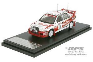 【送料無料】模型車 スポーツカー ランサーエボラリーサンレモオリオールmitsubishi lancer evo iiirally san remo 1996auriol 143 hpi 8556m