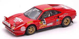【送料無料】模型車 スポーツカー フェラーリサイズモンツァラリーモデルferrari 308 gtb size 3 4 winner monza rally 1979 pintopenariol 143 model