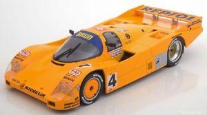 【送料無料】模型車 スポーツカー ポルシェ#ロイターモデルporsche 962 c 4 accident lm 1988 m reuterw lechnerf hunkeler 118 model