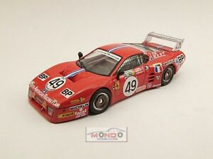 【送料無料】模型車 スポーツカー フェラーリルマンルマン#ベストダイカストモデルferrari 512 bb le mans le mans 1981 cudini 49 best 143 be9385 diecast model