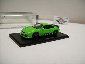 【送料無料】模型車 スポーツカー ポルシェグリーンスパークruf rgt8 basic porsche 911, green, 2012, spark 143, ovp