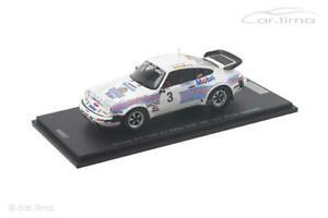 【送料無料】模型車 スポーツカー ポルシェターボラリーporsche 911 turbo 33 winner drm rally saar 1983heromullerspark