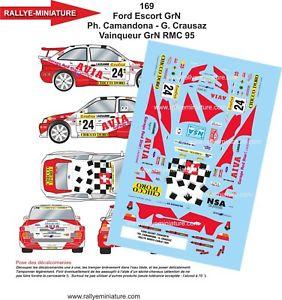 【送料無料】模型車 スポーツカー ステッカー124169フォードエスコートコスワースcamandonaカーロ1995