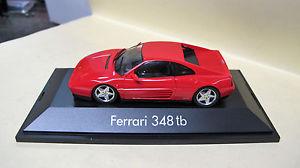 【送料無料】模型車 スポーツカー プラスチックモデルフェラーリプラスチックherpa 143 ferrari 348 tb in red plastic model in plastic box k299