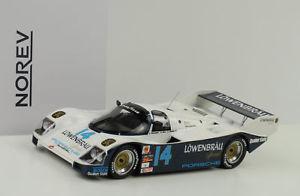 【送料無料】模型車 スポーツカー ポルシェ#デイトナベル1986 porsche 962 c 14 lowenbrau winner 24h daytona holbert bell 118 norev