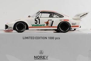 【送料無料】模型車 スポーツカー ポルシェ93551 drm zolder wollek1977バイヤン118 norevダイカストporsche 935 51 drm zolder wollek 1977 vaillant 118 norev diecast
