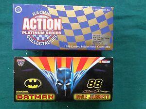 【送料無料】模型車 スポーツカー アクションバットマンデイルジャレットaction batman nascar dale jarrett 132nd scale movie limited edition vhtf 6th an