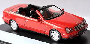【送料無料】模型車 スポーツカー メルセデスベンツカブリオレッドレッドmercedes benz clk 208 cabrio 199899 red red 143 schuco