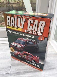 【送料無料】模型車 スポーツカー ランサーエボリューションラリーカーコレクションmitsubishi lancer evolution vi 143 rally car collection 2 chinese deagostini
