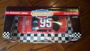 【送料無料】模型車 スポーツカー アメリカ#ertal american muscle old milwaukee lumina 95 118 lot shlf