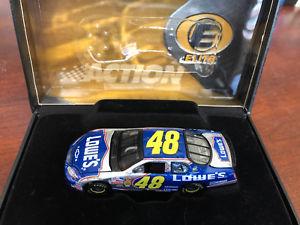 【送料無料】模型車 スポーツカー ジミージョンソンエリートカー2004 jimmie johnson lowes 164 elite car hoto 1 of 720
