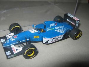 【送料無料】模型車 スポーツカー リジェルノーブランドルショーケースプロヴァンス143 ligier renault js39 m brundle 1993 provence handbuilt car in showcase