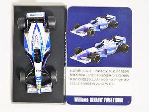 【送料無料】模型車 スポーツカー 164aoshima f1 f1gpウィリアムズgoodyearカーfw18 51996164 aoshima f1 f1gp williams goodyear miniature car collection fw18 5 1996