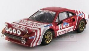 【送料無料】模型車 スポーツカー フェラーリサイズバージョン#タルガフローリオベストferrari 308 gtb size 4 night version 2 winner targa florio 1981 best 143 be9628
