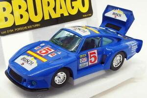 【送料無料】模型車 スポーツカー スケールモデルカーポルシェターボレースカーburago 124 scale model car 2518kporsche 935 turbo racing carblue