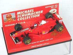 【送料無料】模型車 スポーツカー フェラーリシューマッハグランプリフランスアンテナferrari f310b schumacher winner gp france 1997 side antenna 510974315 143 ovp