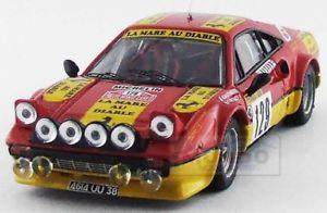【送料無料】模型車 スポーツカー フェラーリサイズラリーモンテカルロベストferrari 308 gtb size 4 rally montecarlo 1983 gauthier gauthier best 143 be9620 mo