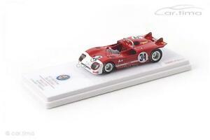 【送料無料】模型車 スポーツカー アルファロメオセブリングモデルalfa romeo tipo 333 12h sebring 1971hezemansvaccarellatsm model 1
