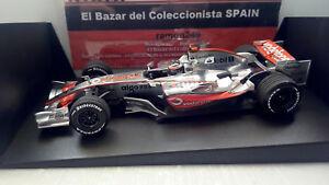 【送料無料】模型車 スポーツカー マクラーレンフェルナンドアロンソプレゼンテーションバレンシア118 2007 mclaren mp421 mp4 22 fernando alonso presentation valenciahw3l050