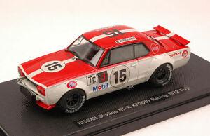 【送料無料】模型車 スポーツカー スカイライン#モデルnissan skyline gtr 15 fuji 1972 m kurosawa 143 model 44138 ebbro