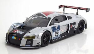 【送料無料】模型車 スポーツカー パラゴンアウディニュルブルクリンク118 paragon audi r8 lms winner 24h nrburgring 2015