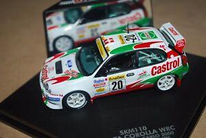 【送料無料】模型車 スポーツカー トヨタカローララリーモンテカルロホフマンvitesse 143 toyota corolla wrc rallye montecarlo 2000, oburrichofmann