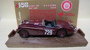 【送料無料】模型車 スポーツカー ジャガーカブリオ#シリーズbrumm 143 jaguar 35 lt cabrio manufactured 1948 729 hp 160 series oro n 103 k299