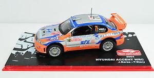 【送料無料】模型車 スポーツカー hyundai accent wrc rallye montecarlo200471143hyundai accent wrc rallye montecarlo 2004 71 scale 143