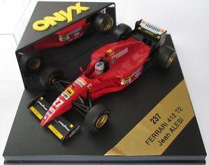 【送料無料】模型車 スポーツカー フェラーリアレジオニキスf1 143 ferrari 412t2 alesi 1995 onyx