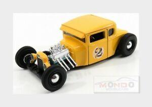 【送料無料】模型車 スポーツカー フォードアメリカmodelcustom2 1929イエロー124マイストmi31354yモデルford usa model a custom 2 1929 yellow 124 maisto mi31354y model