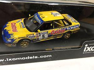 【送料無料】模型車 スポーツカー スバルrs5zealand 1992143 ixoダイカストixo229subaru legacy rs 5 zealand 1992 143 ixo rallydiecastixo229