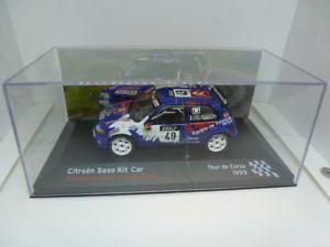 【送料無料】模型車 スポーツカー シトロエンキットカーツールドコルスcitroen saxo kit cartour de corse 1999 143
