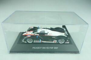 【送料無料】模型車 スポーツカー ネットワークプジョーラミーサラザンボックスixo 143 peugeot 908 hdi fap 2007 lamy sarrazin with box 509752
