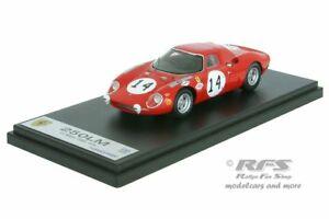 【送料無料】模型車 スポーツカー フェラーリルマングレゴリーコルブ#ferrari 250lm 24h le mans 1968 gregory kolb 14 143 looksmart lm041