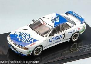 【送料無料】模型車 スポーツカー スカイラインマカオギアレースネットワークnissan skyline gtr r32 macau guia race 1991 143 ixo limited editionmgcp 004