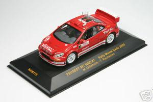 【送料無料】模型車 スポーツカー ラムプジョーラリーモンテカルロ143 ram 170 peugeot 307 wrc grnholm rally monte c 05