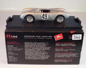【送料無料】模型車 スポーツカー ポルシェスパイダールマン#brumm 143 porsche 550 1500rs spyder le mans 1955 bnib 366