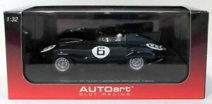 【送料無料】模型車 スポーツカー スケールスロットカージャガータイプルマングリーンautoart 132 scale slot car 13582jaguar dtype le mans winner 1955green