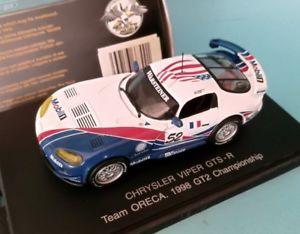 【送料無料】模型車 スポーツカー クライスラーチームユニバーサルviper gtsr chrysler team oreca gt2 1998 universal hobbies 143