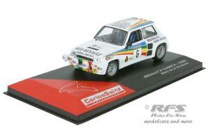 【送料無料】模型車 スポーツカー ルノーターボデラサインツラリーアルrenault 5 turbo 2rally de la vendimia 1983sainz 143 al 1983dlv06cs