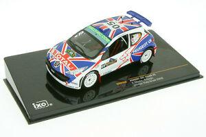 【送料無料】模型車 スポーツカー 143プジョー207 2009s2000meekeブラジルram368143 peugeot 207 s2000meeke rally brazil 2009ram 368
