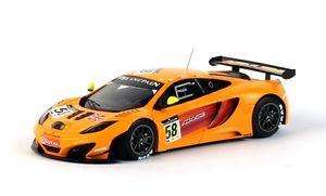【送料無料】模型車 スポーツカー マクラーレングアテマラ#スパモデルスケールミニアチュアmclaren mp412c gt3 58 24h spa 2011 143 model true scale miniatures
