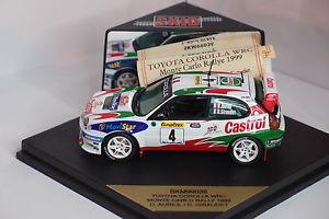 【送料無料】模型車 スポーツカー スキッドトヨタカローラモンテカルロラリーskid toyota corolla wrc monte carlo rally 1999 143