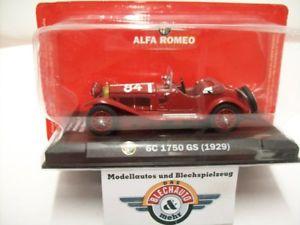 【送料無料】模型車 スポーツカー アルファロメオ#ミッレミリアalfa romeo 6c 1750 gs 84 mille miglia 1930, darkred, rcs 143, ovp