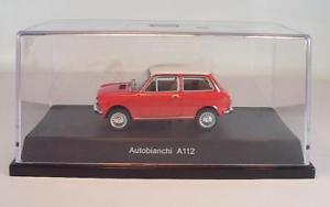 【送料無料】模型車 スポーツカー スターラインレッドボックス#starline 143 autobianchi a 112 red with o box 2725