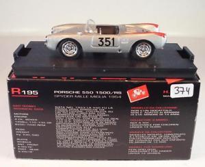 【送料無料】模型車 スポーツカー ポルシェスパイダーミッレミリア#brumm 143 porsche 550 1500rs spyder mille miglia 1954 bnib 374
